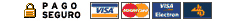 Servicaixa, Visa, Visa Electrón y Mastercard